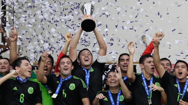 Mexico se coronó en el Premundial de Concacaf en mayo.