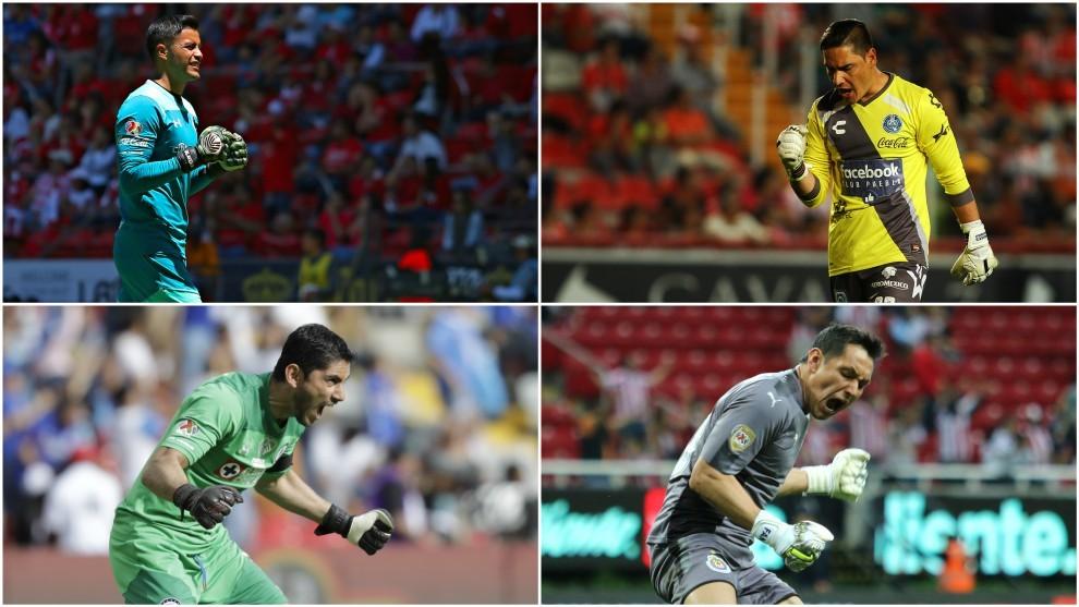 Talavera, Muñoz, Corona y Cota (de arriba a abajo y de izquierda a...