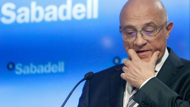 El presidente del Banco de Sabadell, Josep Oliu. Imagen: EFE