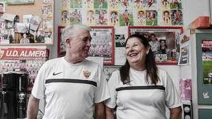 Bernardo y Mari cuidan del Juegos Mediterráneos como su fuese su...