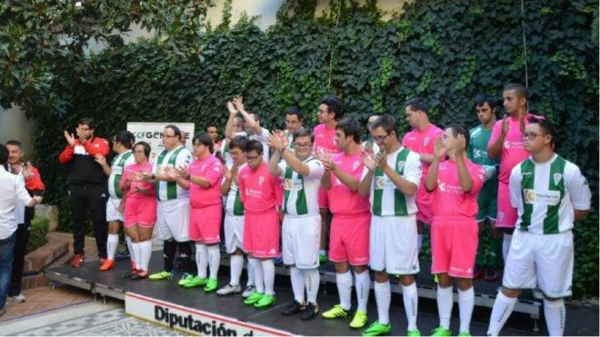Presentación del equipo Genuine del Córdoba CF