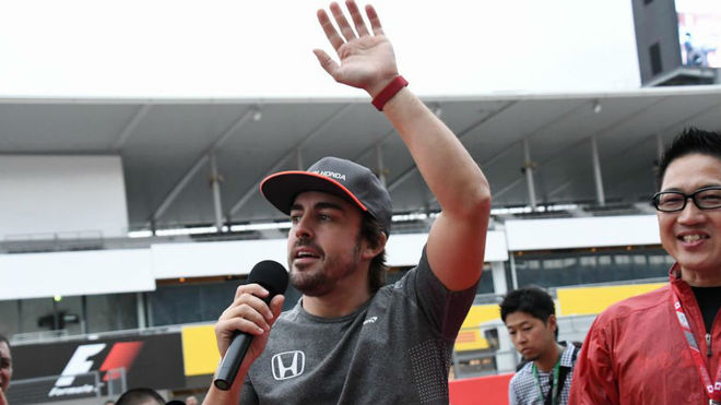 Alonso, en Suzuka.