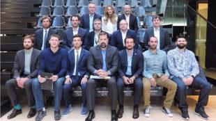 Los representantes y jugadores que han acudido a la reunión