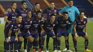 Foto oficial del Atlante previo a un partido del Ascenso MX.
