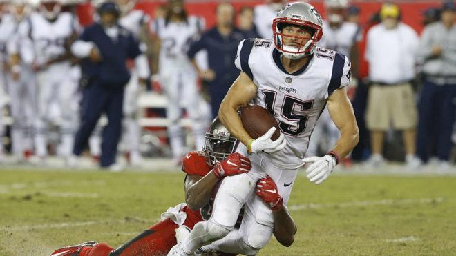 Patriots sufrió para vencer a Tampa Bay.