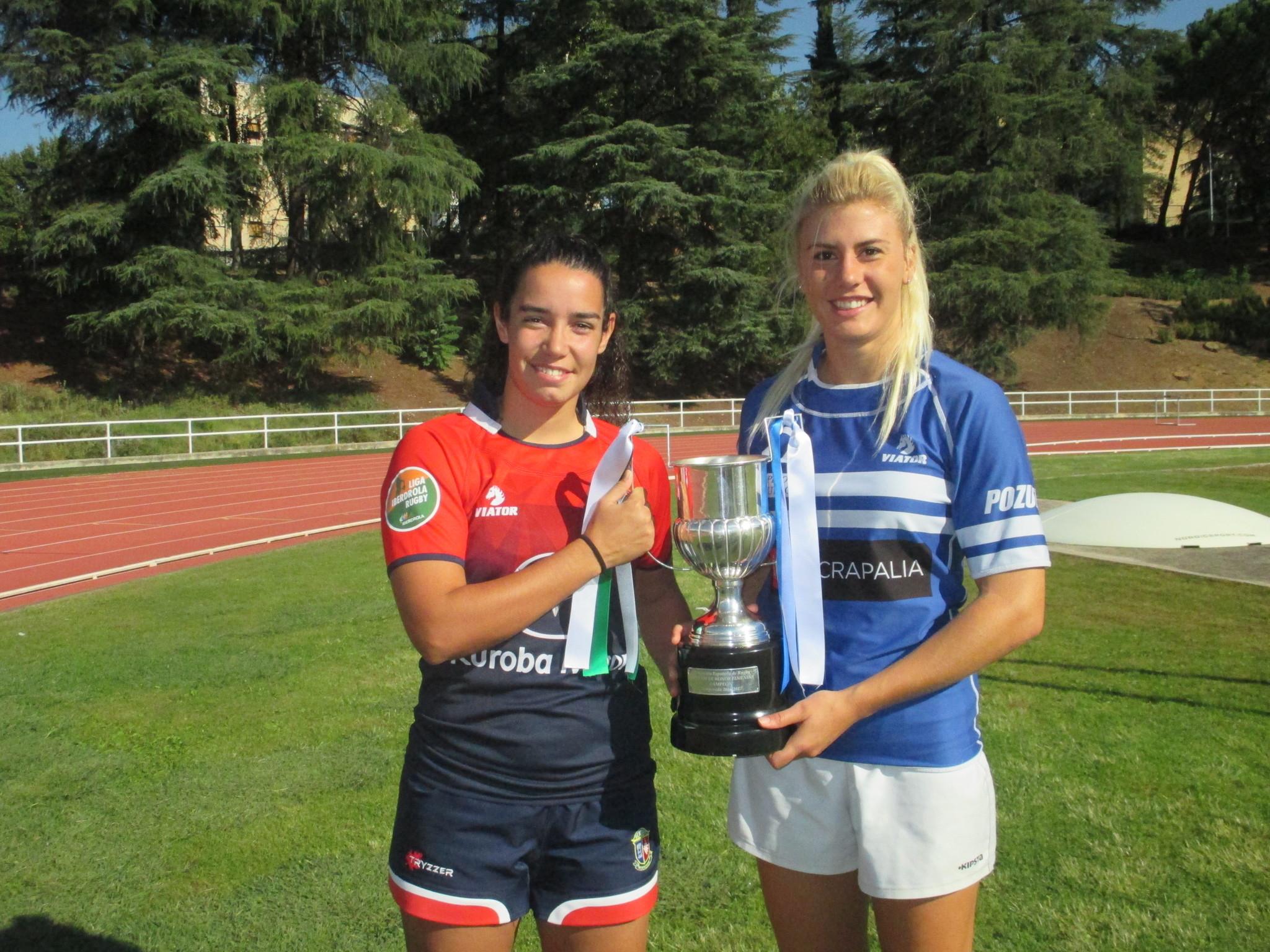Blanca Domínguez, representante de Majadahonda, campeón de la Copa...