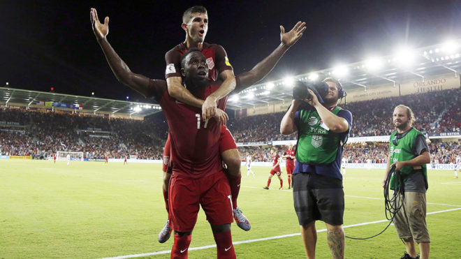 Jozy Altidore and Christian Pulisic /