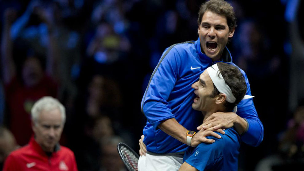 Nadal salta sobre Federer