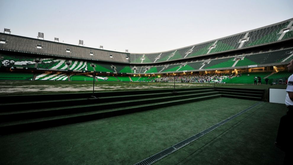 Inauguración del Gol Sur