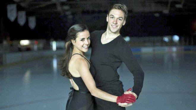 Sara Hurtado y Kirill Khaliavin, pareja española patinaje artístico...