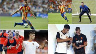 Los siete valencianos que forman parte de la plantilla 2016-17.