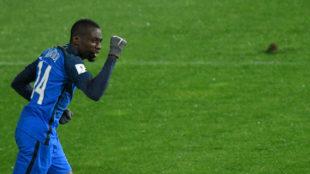 Matuidi celebra el gol de la victoria