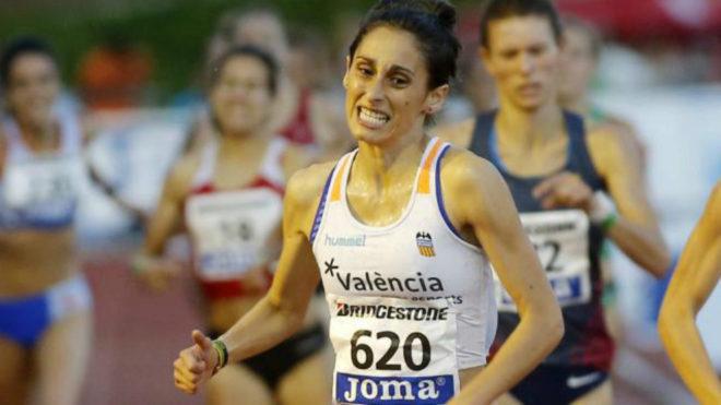 Solange Pereira en el Campeonato de España disputado el pasado mes de...