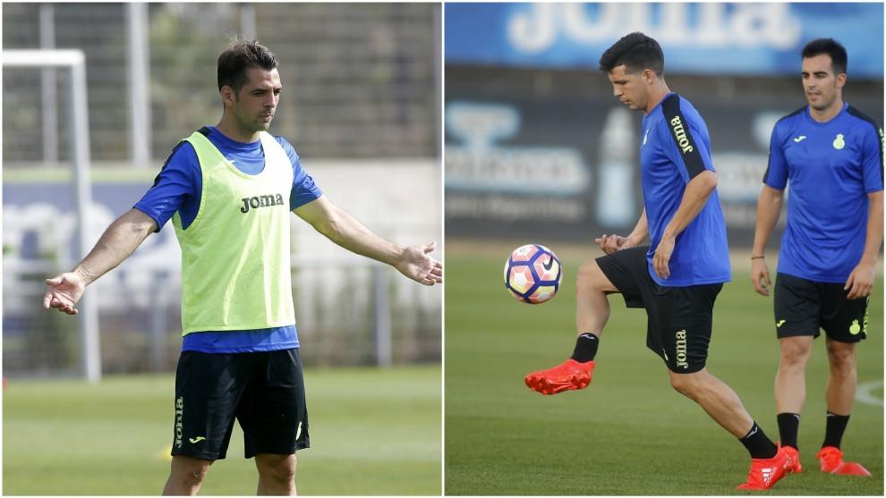 Javi López y Víctor Sánchez mejoran de sus lesiones