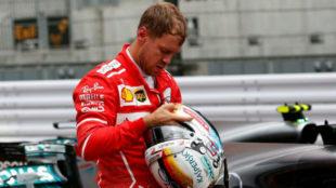 Vettel, tras la calificaci�n del s�bado en el Gran Premio de Jap�n