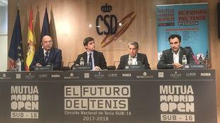 Miguel D�az, Jaime Gonz�lez Casta�o, Manolo Santana y Alberto...