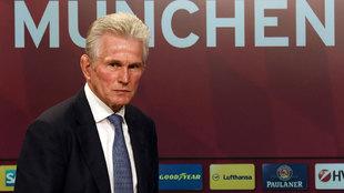 Jupp Heynckes, nuevo entrenador del Bayern de Munich.