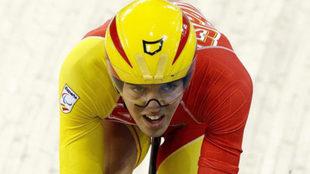 Alfonso Cabello en los Juegos Paralímpicos de Londres.