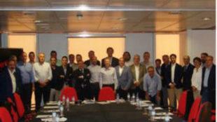 Reuni�n entre los integrantes de los clubes de la LEB Oro y la FEB.