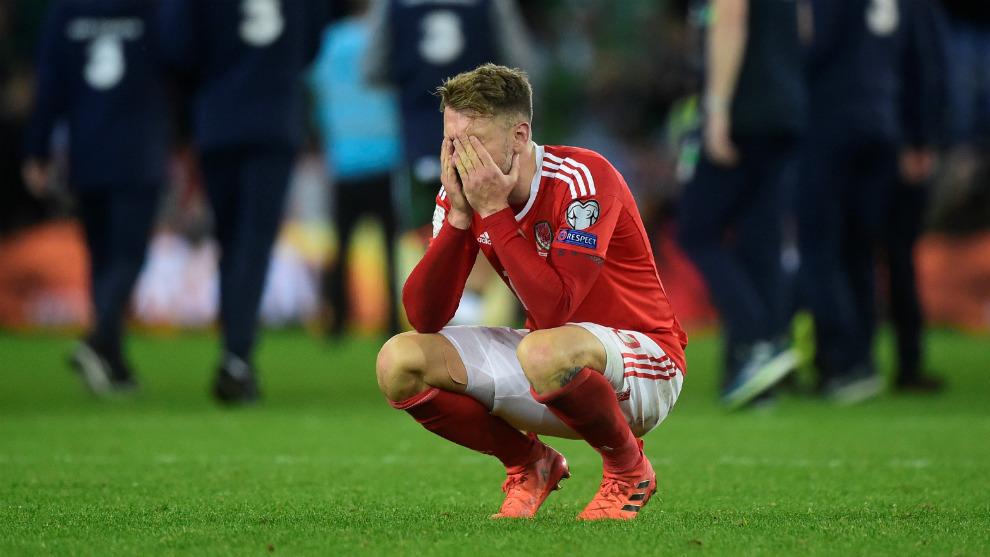 Ramsey se desespera tras quedarse fuera del Mundial