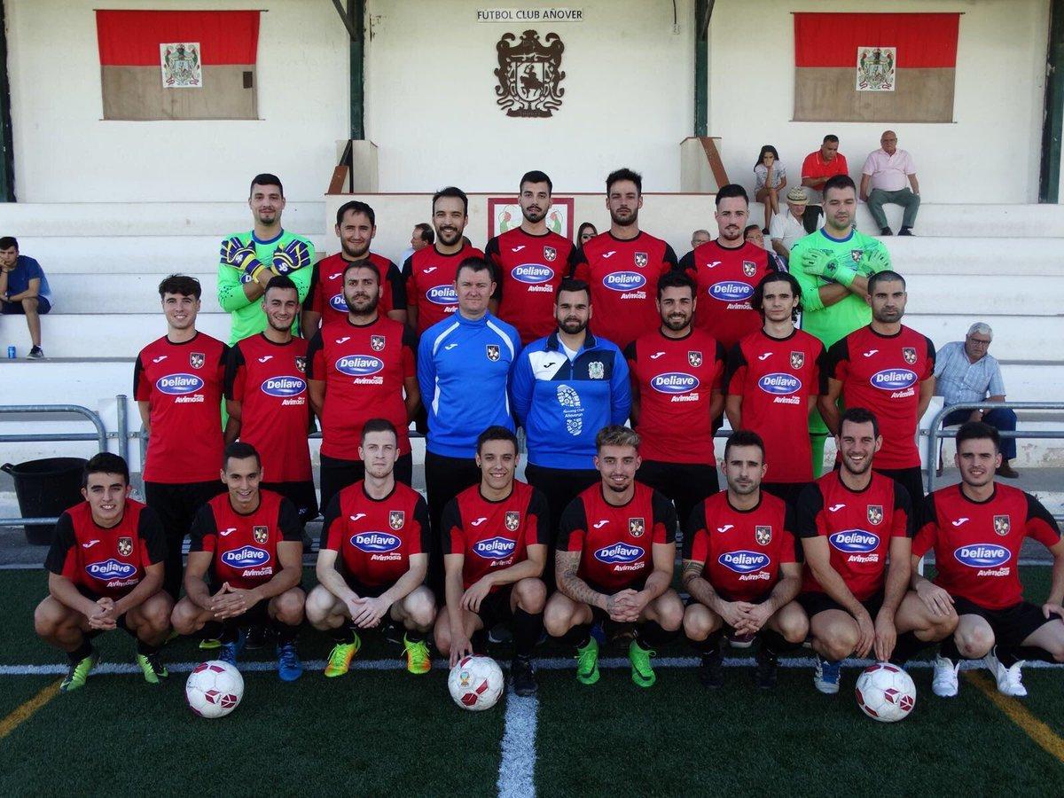 """Alineacion del F.C Añover, el """"equipo de mierda"""" de primera regional..."""