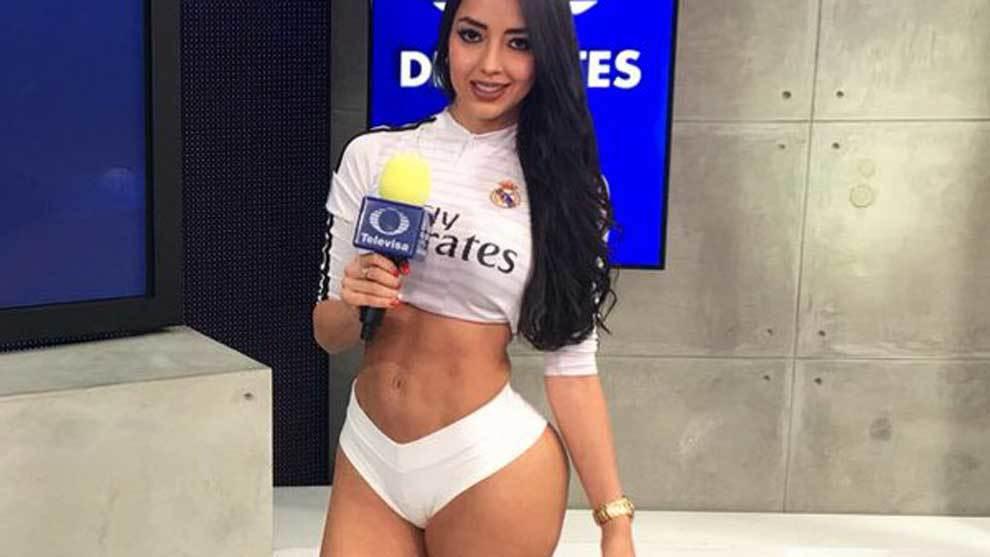 La modelo Addry Dueñas, colombiana de nacimiento y mexicana de...