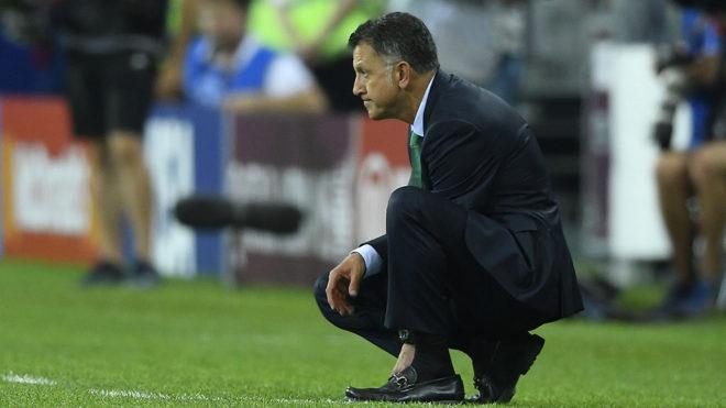 Osorio en un duelo del Tri.