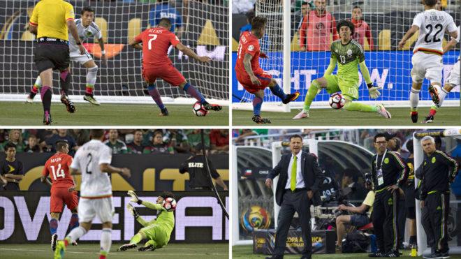 Así fue la goleada de los chilenos.