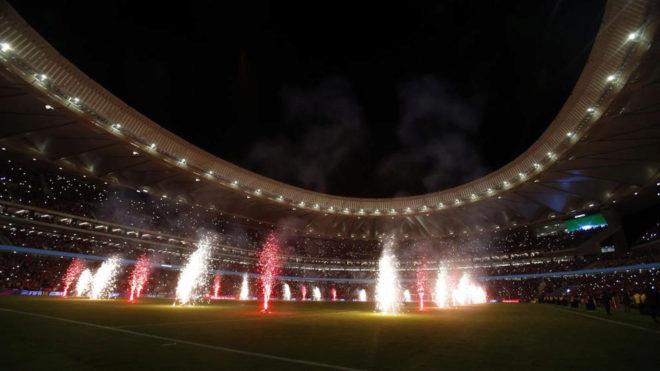Inauguración del Wanda Metropolitano
