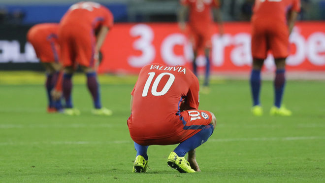 CHile quedó eliminado de Rusia 2018.