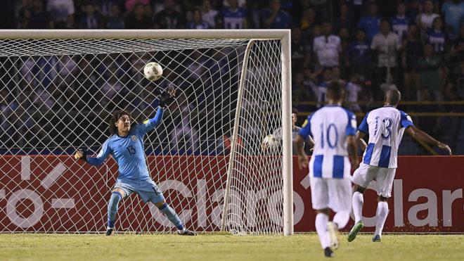 Con la victoria Honduras va a repechaje.