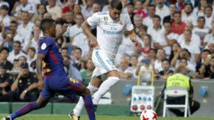 Theo, en el partido ante el Levante.