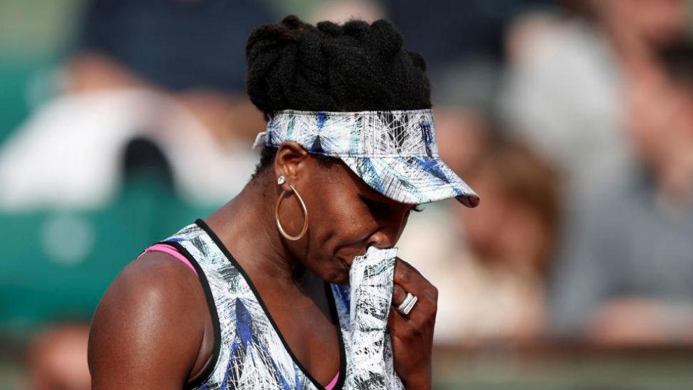 Venus se seca el sudor