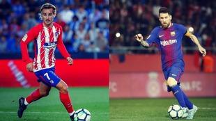 Griezmann y Messi se verán las caras en el Atlético de Madrid - FC...