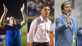 Hernán 'Bolillo' Gómez, Juan Carlos Osorio y Jorge Luis...