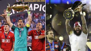 La Copa fue un mal augurio para Chile y EEUU.