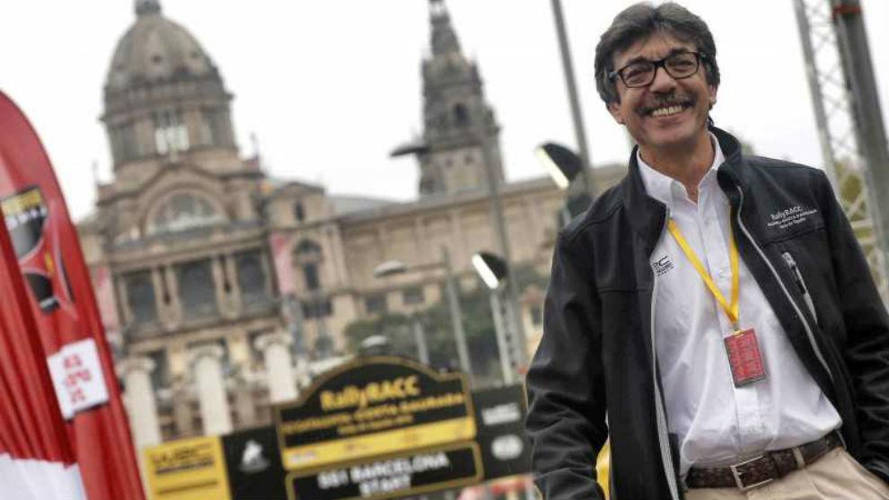 Amán Barful, responsable deportivo del RACC y director de carrera