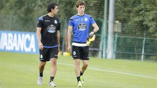 Pedro Mosquera en un entrenamiento