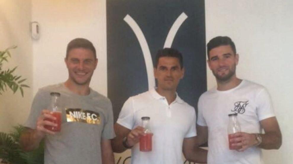 Joaquín, Juanito y Barragán