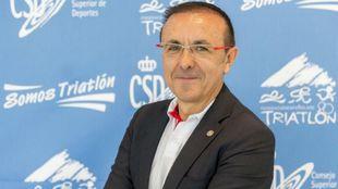 José Hidalgo en el CSD