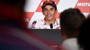 Marc M�rquez, en el circuito de Motegi