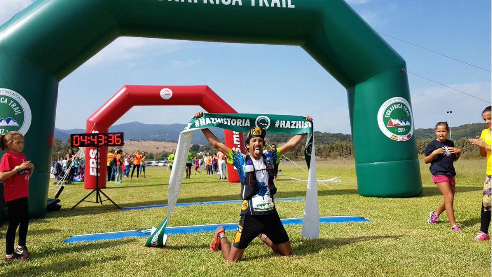 Zaid Ait Malek completó el recorrido en 4 horas y 43 minutos.