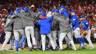 Los Cubs son los defensores del título de la Serie Mundial.