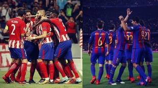 Atlético de Madrid y FC Barcelona garantizan goles en sus...
