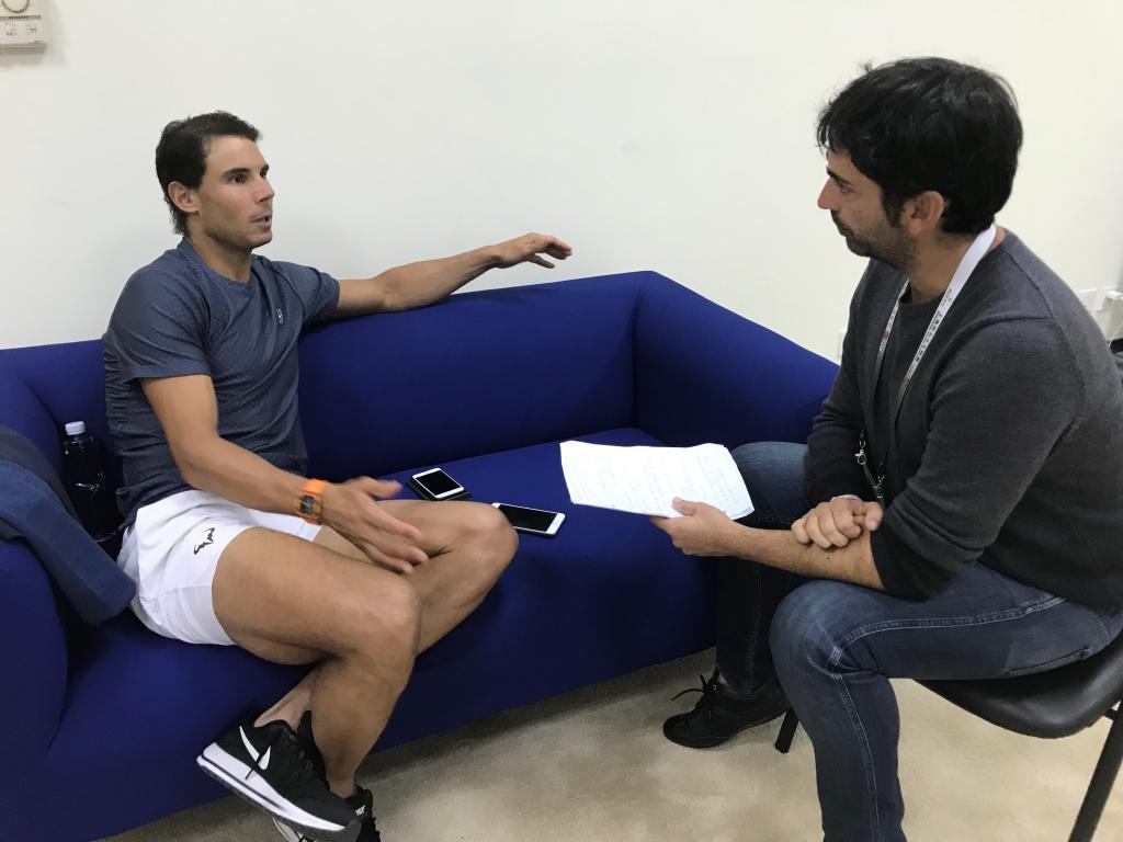 """Nadal: """"Federer y yo hemos sido un ejemplo"""""""