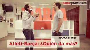 Pipi Estrada y David Sánchez, frente a frente en el reto MARCA...