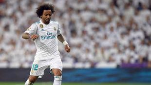 Marcelo durante un partido