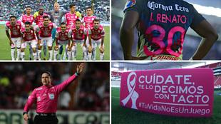 La Liga MX se pinta de rosa contra el cáncer de mama