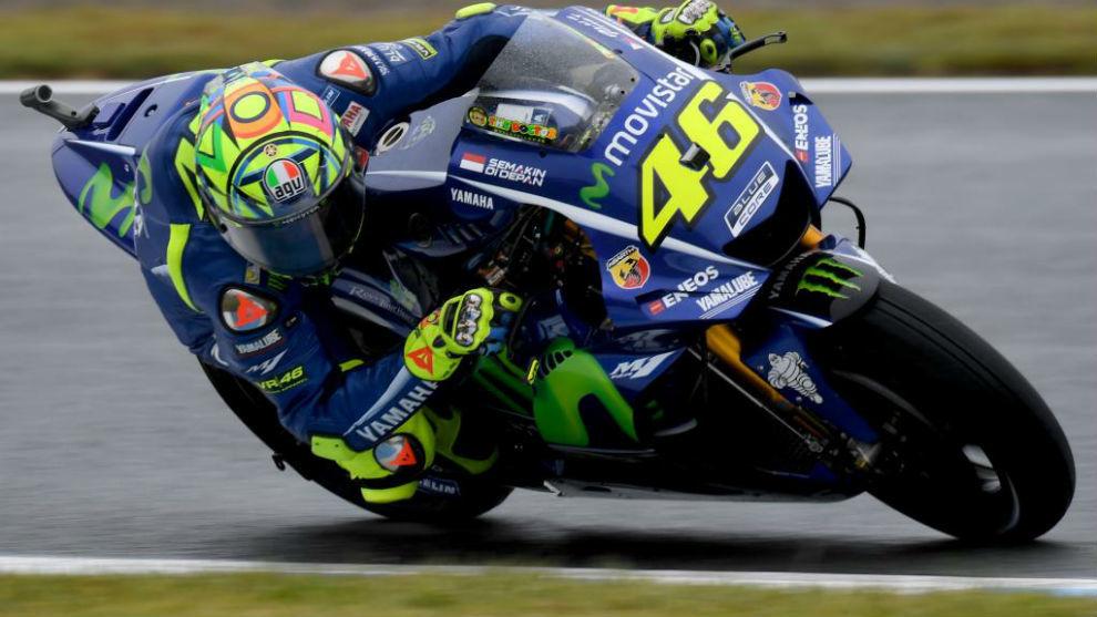 Valentino Rossi, en Motegi