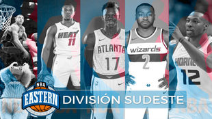 Montaje MARCA de los jugadores y equipos de la División Sudeste